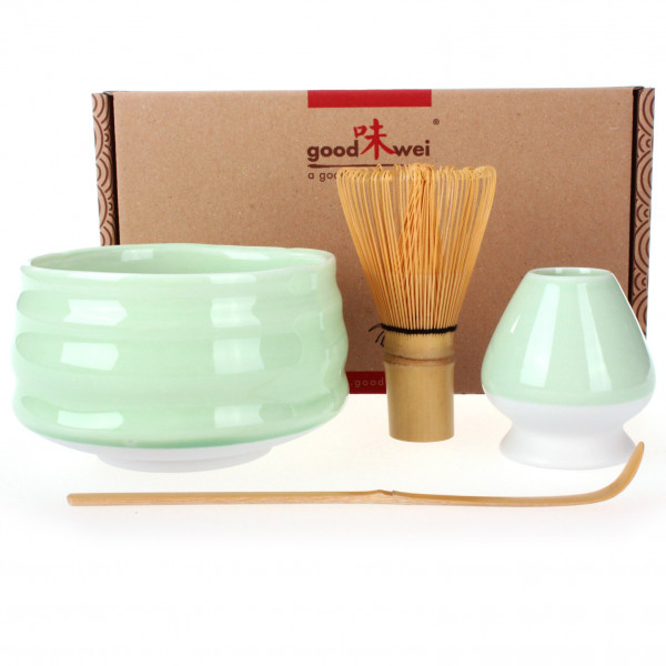Deluxe Matcha-Set Minto 80 mit Chasentate