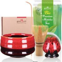 "Matcha-Set ""Yogan"" mit 30g Premium Bio-Matcha"