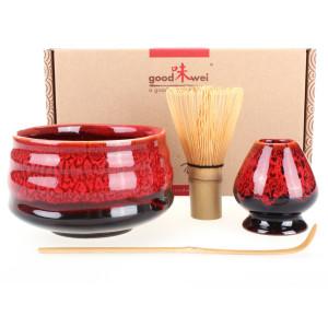 "Ceremonial Matcha Tea Set ""Yogan"", Whisk Size 120"