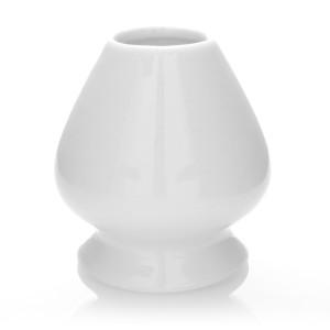 Chasentate - soporte para escoba matcha (blanco)
