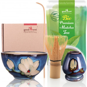 "Ceremonial Matcha Tea Set ""Magnolia"", incl. 30g..."