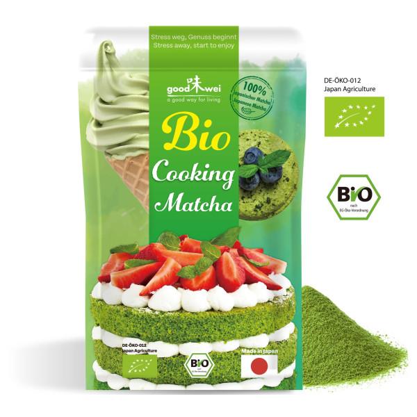 Japanischer Bio Matcha Cooking, 50g