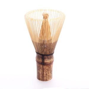 "Matcha Whisk "" Chasen"", 80 Bristles, Black Bamboo"