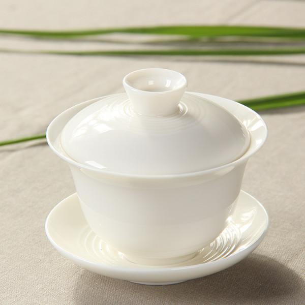 Gaiwan, White Bone China