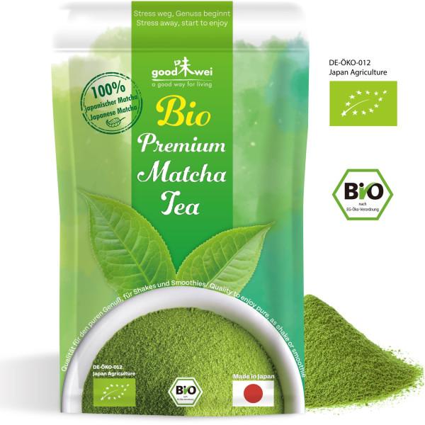 Matcha Premium orgánico japonés, 30g
