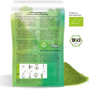 Japanischer Bio Matcha Premium, 30g