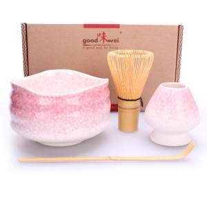 "Ceremonial Matcha Tea Set ""Sakura"", Whisk Size 80"