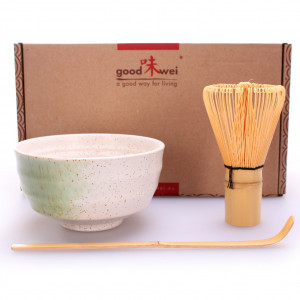 "Matcha-Set ""Shiro"", 3-teilig"