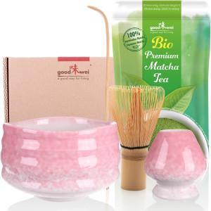 "Matcha-Set ""Sakura"" mit 30g Premium Bio-Matcha"