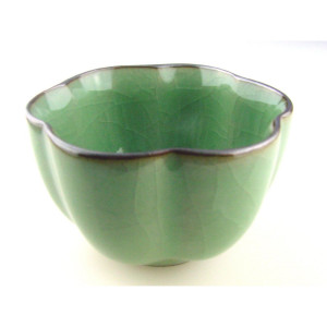 "Chinese Gong Fu Cha Tea Cup ""Calyx"", Crackled..."