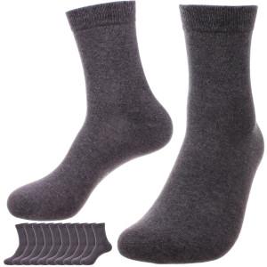 Sokken business unisex 96% katoen, 10-pack grijs 43-46