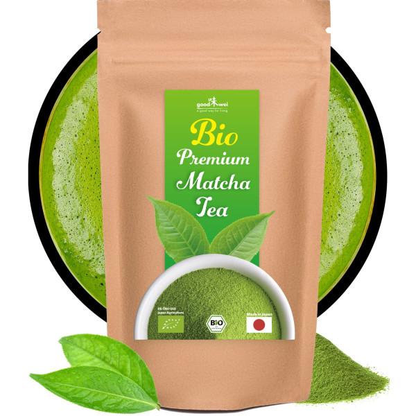 Matcha bio japonais Premium, 200g